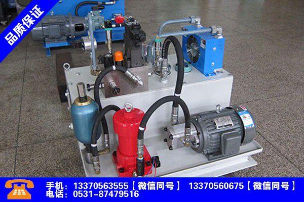 河南郑州液压系统基本组成分析