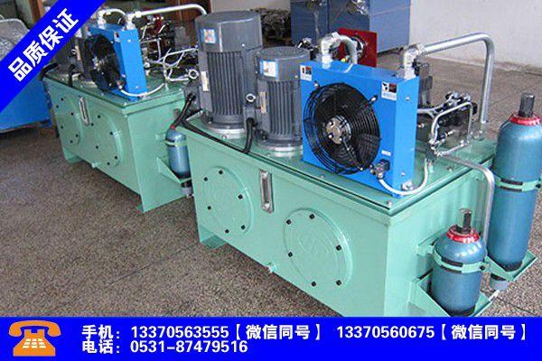 咸宁通山液压系统的主要部分指导报价