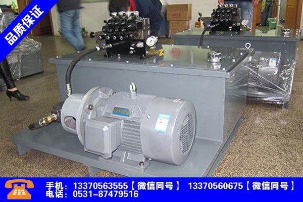 聊城高唐液压系统的排气过程出货良好