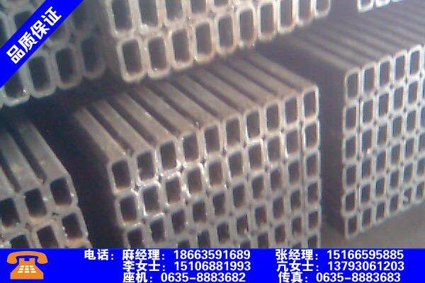 赤峰敖汉旗无缝方管尺寸规格表安装操作注意