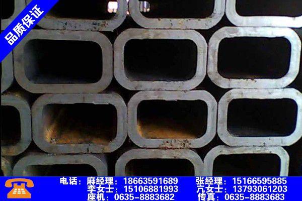 忻州繁峙无缝方管重量计算品质文件
