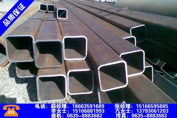 宁夏中卫无缝方管规格表国标产品使用有哪些