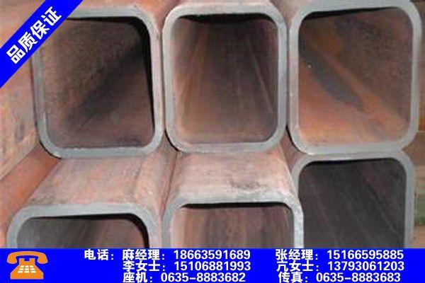 天津河西无缝方管重量计算行业出炉