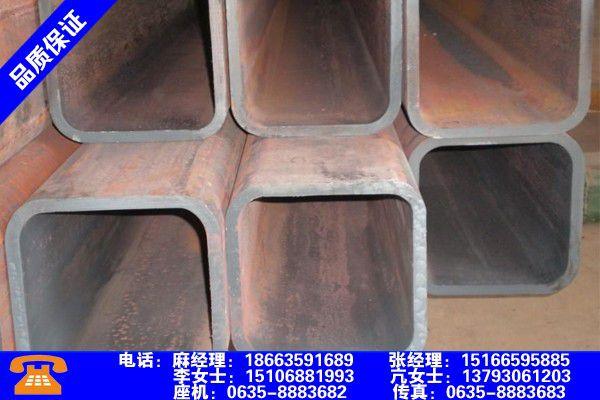 山东烟台无缝方管外径和壁厚产品使用中的长