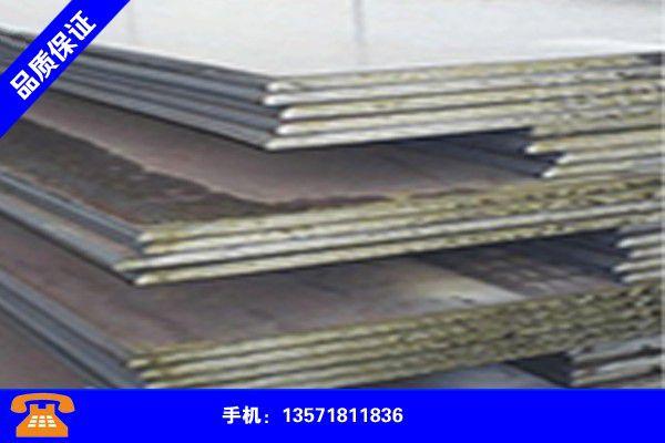 吉安井冈山钢板生产地分析