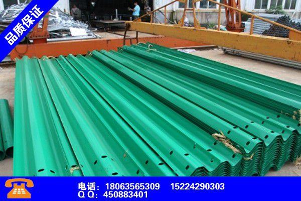 富宁高速波形护栏端头型号近期报价厂家