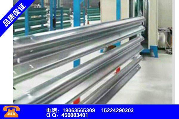 运城万荣高速波形护栏安装高度各类产品的不同点