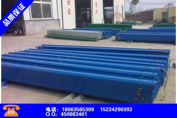 昭通雄鍍鋅噴塑波形護欄標準尺寸產業市場發展將趨于平穩增長