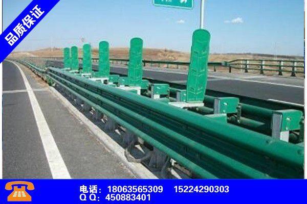 云龙高速波形护栏安装施工齐全优惠报价