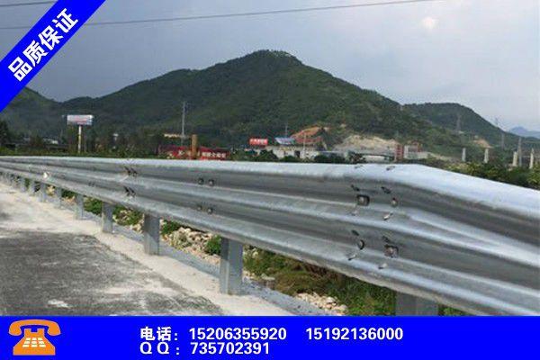菏泽鄄城波形护栏板规格型号标新立异