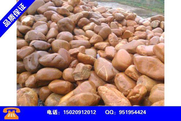 甘南藏族合作鹅卵石加工前景如何