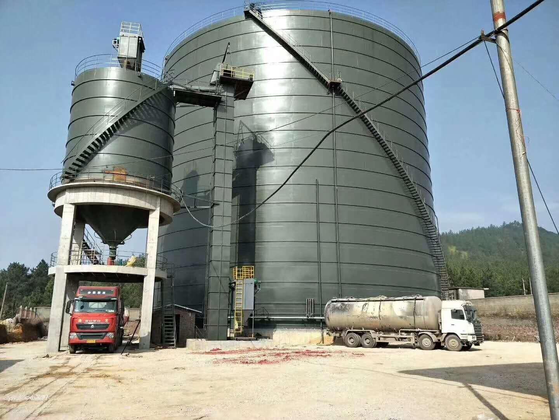 江汉区供销大型粉煤灰钢板仓