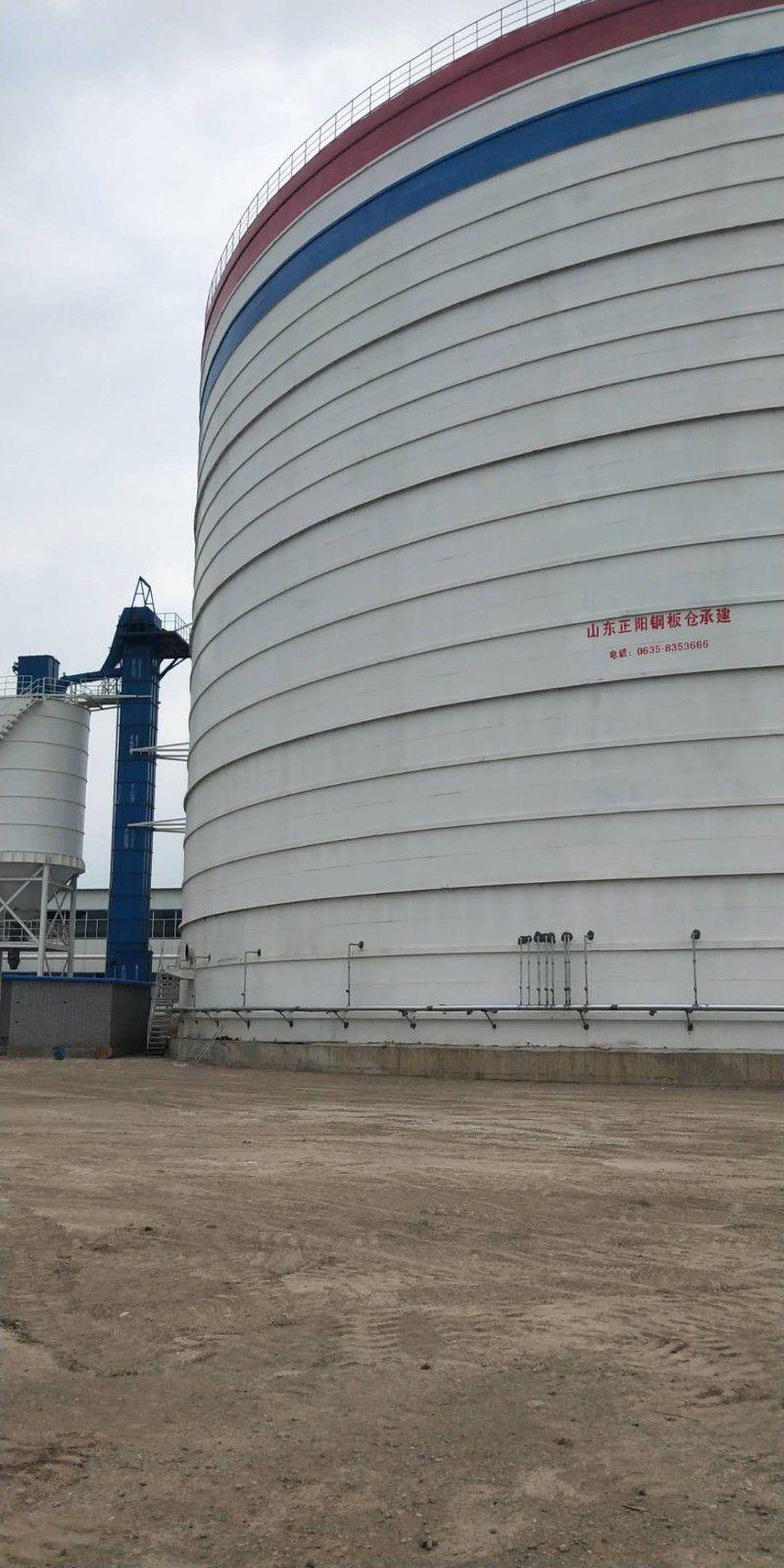 禹王台区焊接式粉煤灰钢板仓