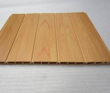 镇海区吊顶生态木方通安装