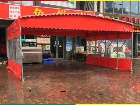 鲤城区电动伸缩雨篷制作视频