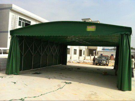 南乐县专业定做移动推拉雨棚