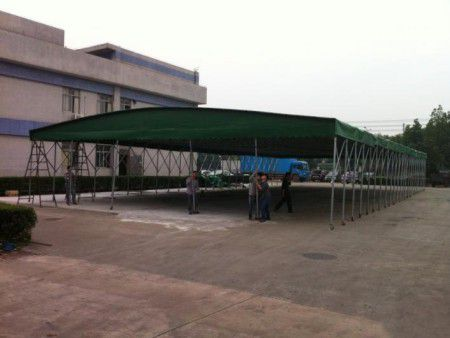 景泰县优质移动推拉雨棚价格