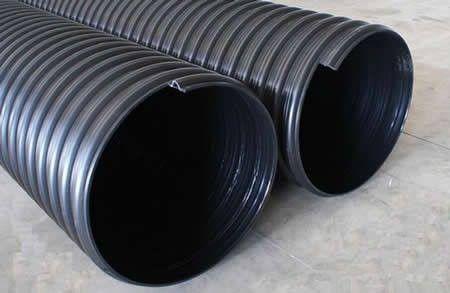 清河区pe钢带增强缠绕排污管