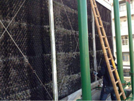 林口县冷却塔减速机维修步骤