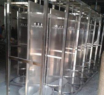 西双版纳傣族自治州不锈钢消防战斗服衣架
