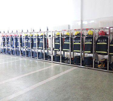 红古区消防战斗服衣架图片
