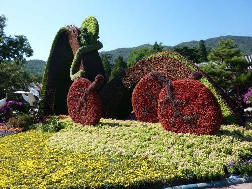 新乡辉县立体造型花坛