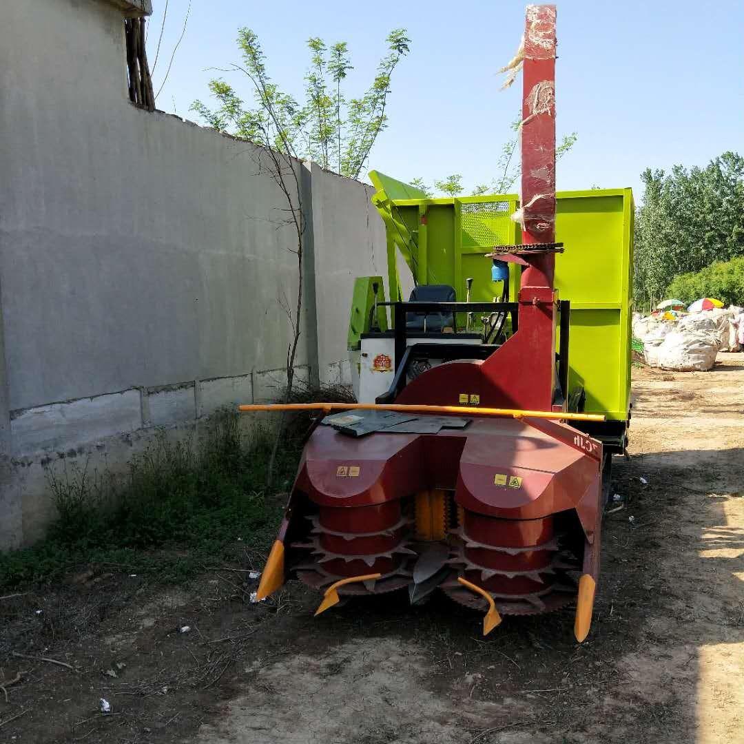 信阳新县小行1青储收割机