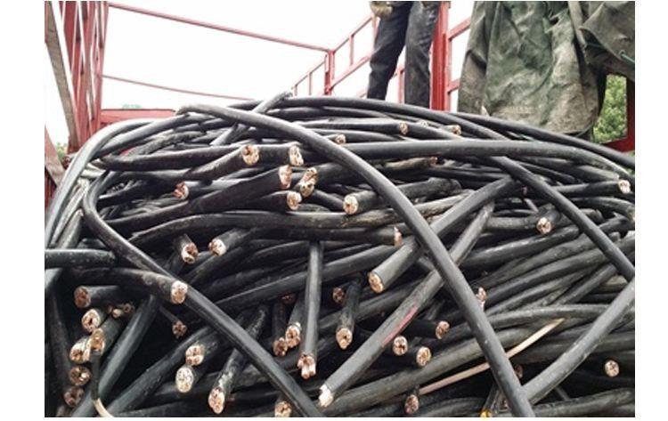 衡水故城库房挤压电缆回收