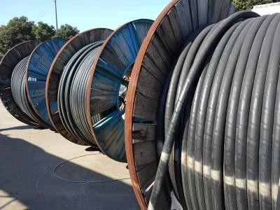 广东省云浮市新兴县回收铜做的电缆与