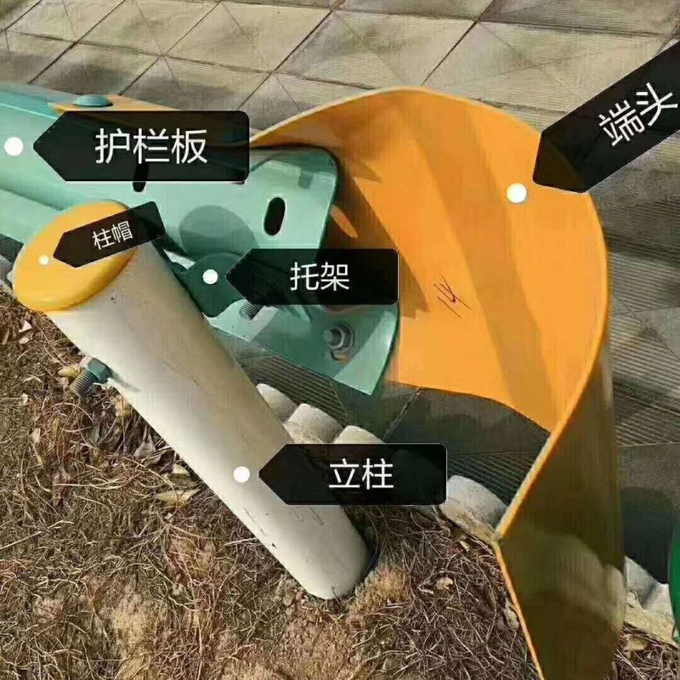 广东韶关新丰波形钢护栏