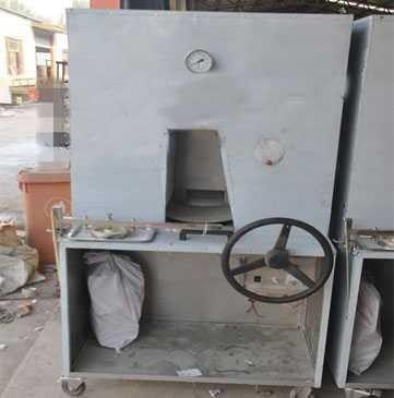 湖南长沙宁乡人工手动转炉烧饼压饼机