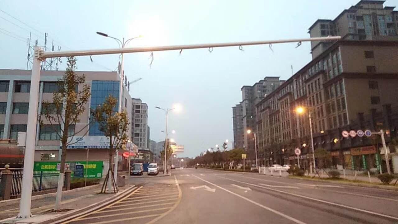 云南昭通昭阳四米灯杆路灯