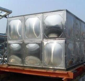 保温水箱底座结构图