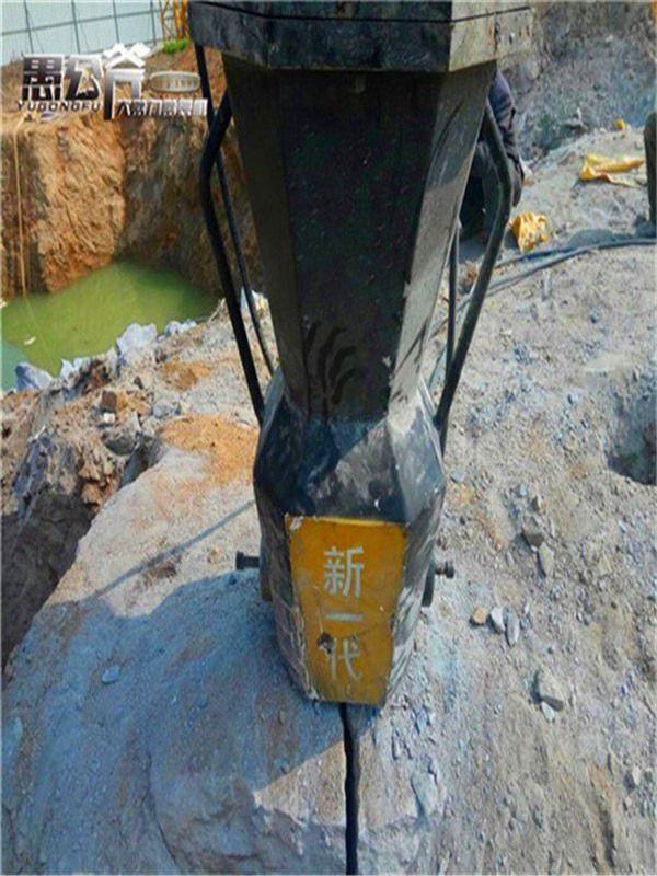 内蒙古呼伦贝尔莫力达瓦达斡尔族自治旗地基坚硬石头分裂机