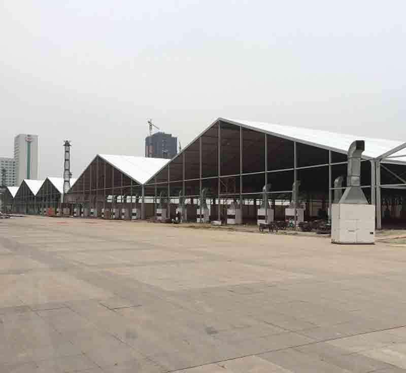 胶州仓储帐篷设计使用寿命长