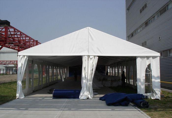 平顶山卫东工地救灾帐篷设计有规律