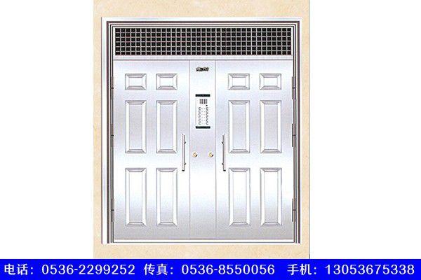 云南丽江华坪医院门窗钢质门