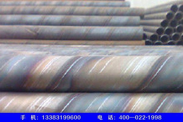 江西鹰潭余江薄壁碳钢螺旋管规格表