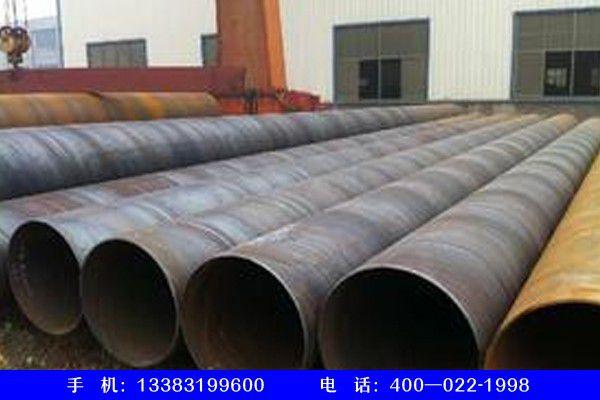 湖北省黃石市下陸區螺旋管325壁厚6mm承壓多少