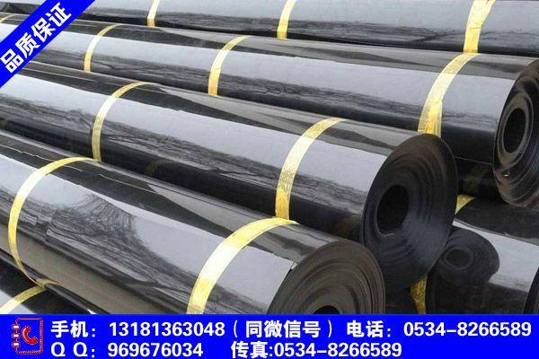 黑龙江省哈尔滨市延寿县藕池土工膜实体生产