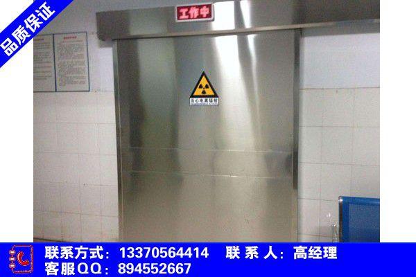 江苏省扬州市宝应县CT室防护门