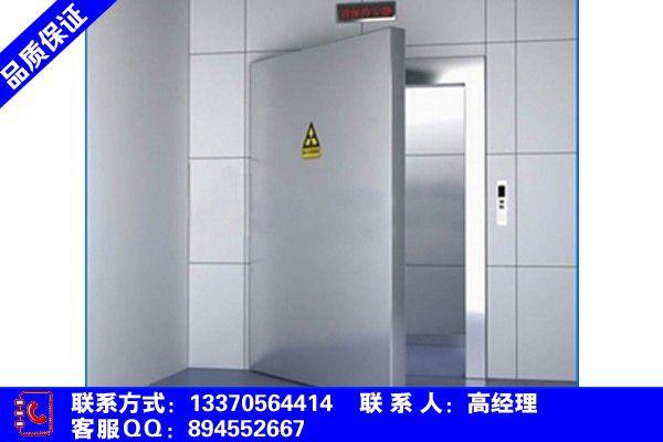 云南省迪庆藏族维西傈僳族自治县核磁室铅门