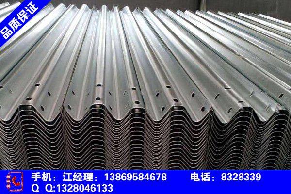 吉林通化二道江高速护栏安装