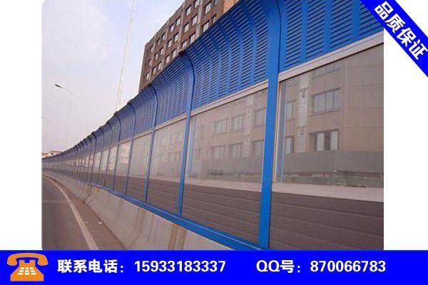 河北省滄州市南皮縣高速公路隔聲墻設計