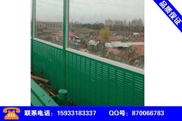浙江省台州市天台县道路隔声墙知识