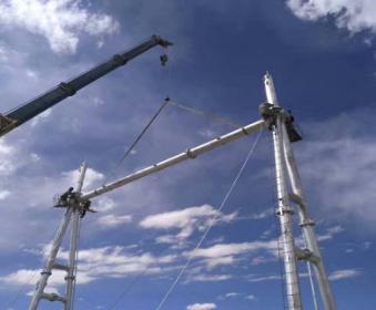 赤峰喀喇沁旗54米避雷针信誉可靠