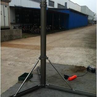 泰州海陵34m避雷針安裝施工
