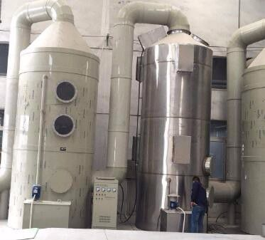 肃北蒙古族自治县不锈钢喷淋塔设计制作