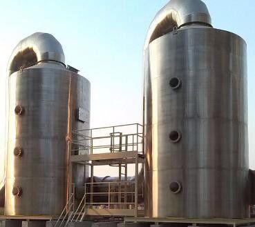 海东循化撒拉族自治县不锈钢喷淋塔多少钱质量轻