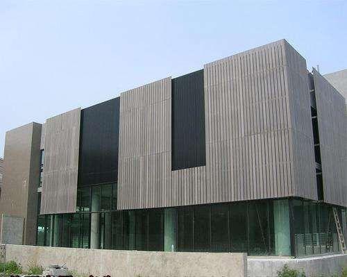 台州生态木外墙板效果图安装做法